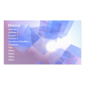 Cool Cubes - Business Business Card Template