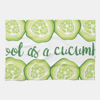 Cool Cucumber Kitchen Towel
