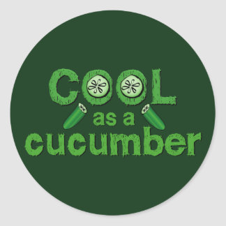 Cool Cucumber stickers