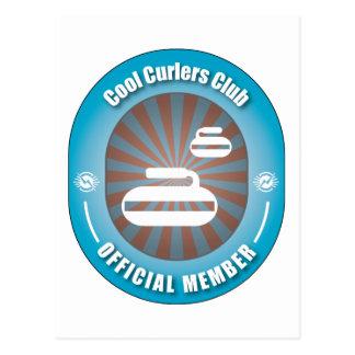Cool Curlers Club Postcard