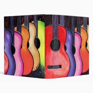 Cool Custom Guitar Binder! Vinyl Binders