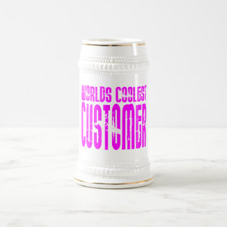 Cool Customers + Pink Worlds Coolest Customer Mugs