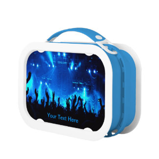 "Cool ""Customizable"" Live Concert (Multiple Colors) Lunch Box"