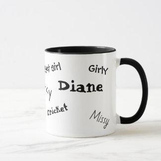 Cool Customized Funny Nicknames Coffee Mug