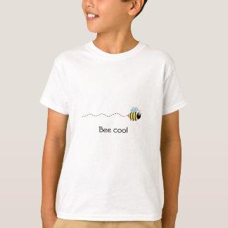 Cool cute bee cartoon kids shirt