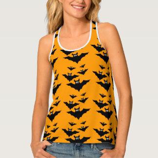Cool cute Flying bats Halloween pattern Tank Top