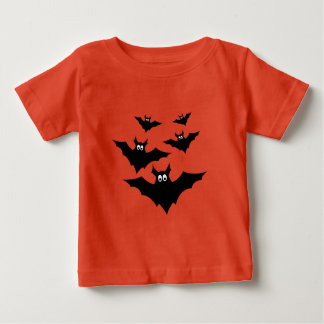 Cool cute Halloween bats Baby Shirt