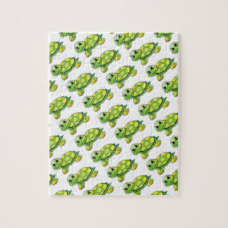 Cool Cute Turtle Jigsaw Puzzle