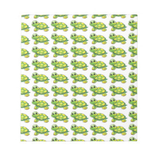 Cool Cute Turtle Notepad