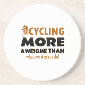 Cool cycling designs coaster