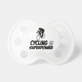 Cool Cycling designs Pacifier