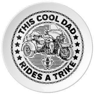 Cool Dad Biker Trike Plate