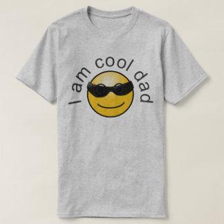 Cool Dad Smiley Grey T-Shirt