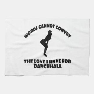 Cool dancehall designs kitchen towel