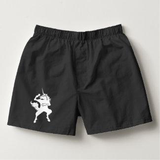 Cool dancing unicorn boxers