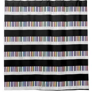 Cool Dark Psychedelic Piano Keys
