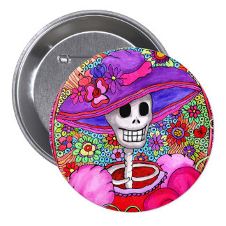 Cool Day of Dead Button