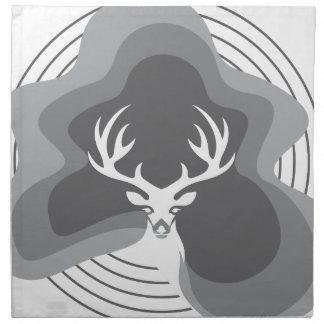 Cool Deer Design Napkin