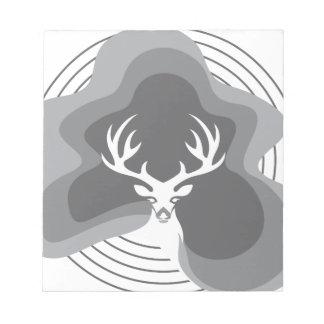 Cool Deer Design Notepad