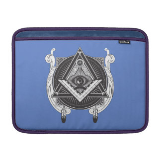 Cool design Iluminati Sleeve For MacBook Air