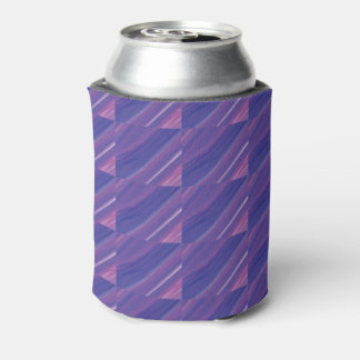 Cool Diagonal Purple Beer Sleeve / Cooler / Cozy