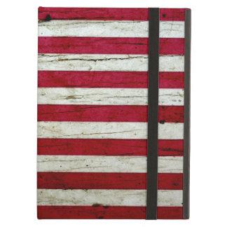 Cool Distressed American Flag Wood Rustic iPad Air Cover