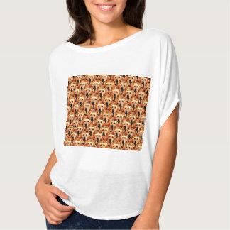 Cool Dog Art Doggie Golden Retriever Abstract T-Shirt