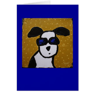 cool dog card