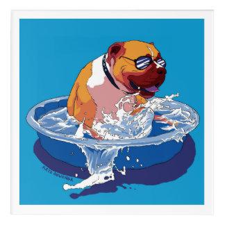 Cool Dog Days of Summer Acrylic Wall Art
