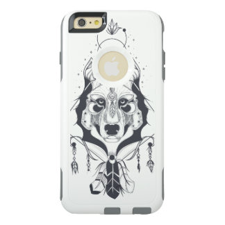 cool dog design art OtterBox iPhone 6/6s plus case