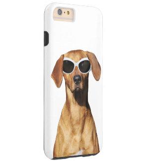 Cool dog, Rhodesian Ridgeback wearing sunglasses Tough iPhone 6 Plus Case