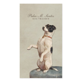 Cool Dog Trainer Vintage Animal Simple Elegant