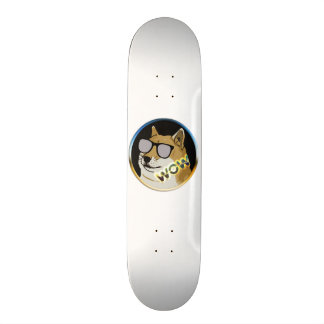 Cool Doge : Dogecoin is WOW! Skate Board
