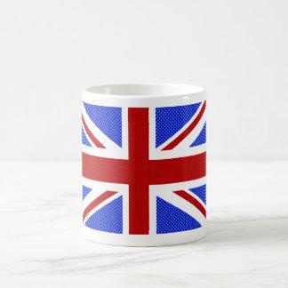 Cool dotted design Union Jack mug