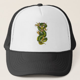 COOL DRAGON TRUCKER HAT