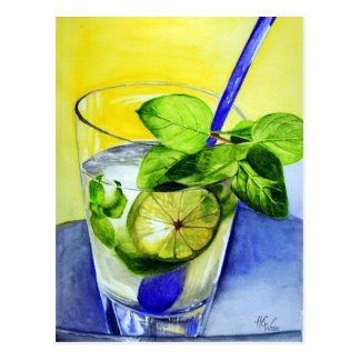 Cool Drink Postcard