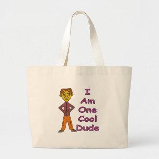Cool Dude Large Tote Bag