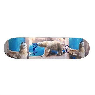 Cool Dude Polar Bear Boar Skateboard