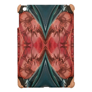 Cool Dusty Rose Artistic Pattern iPad Mini Cover