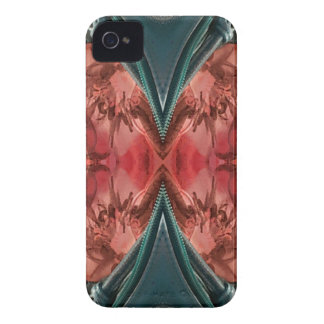 Cool Dusty Rose Artistic Pattern iPhone 4 Case