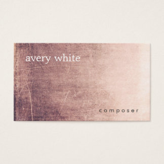 Cool Edgy Abstract Business Card
