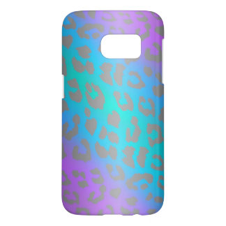 Cool Electric Leopard Animal Print Samsung Galaxy S7 Case