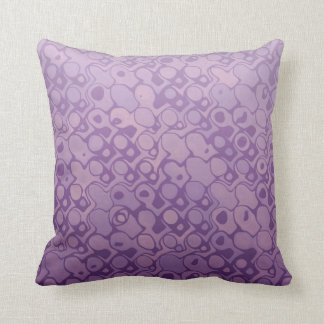 Cool elegant abstract light purple pillow