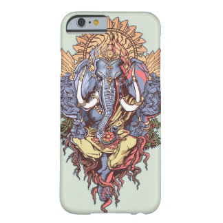 Cool Elephant Artwork Meditating Barely There iPhone 6 Case