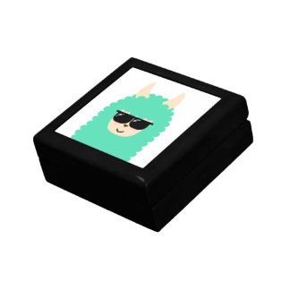 Cool Emoji Llama Gift Box