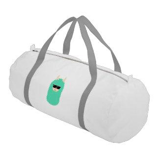 Cool Emoji Llama Gym Bag