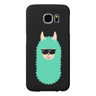 Cool Emoji Llama Samsung Galaxy S6 Cases