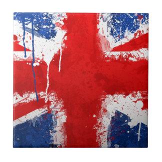 Cool England flag Tile