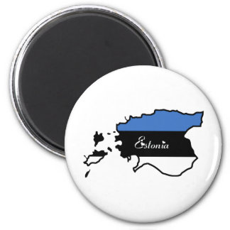 Cool Estonia Magnet