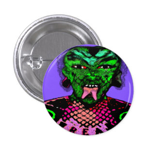 cool evil looking guy 1 inch round button